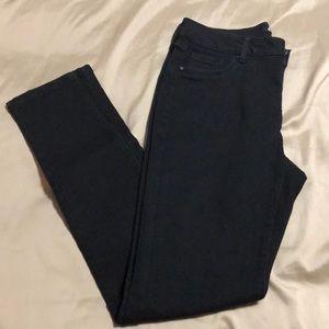Jeans - d. jeans size 8 black skinny
